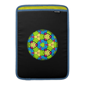 Geometric Spirograph MacBook Sleeve