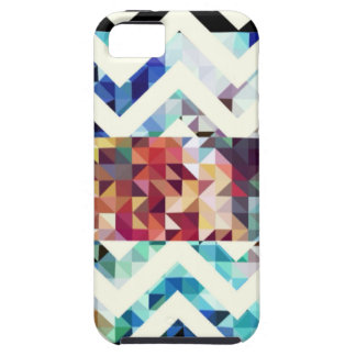 Geometric Squares and Triangles iPhone 5 Case