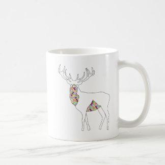 Geometric Stag Mug