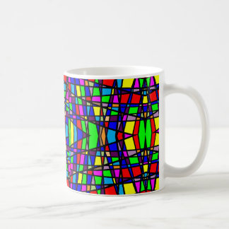 Geometric Stained Glass Mug