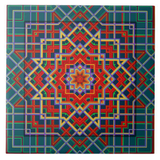 Geometric  Star Tile