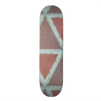 Geometric Stone Wall 19.7 Cm Skateboard Deck