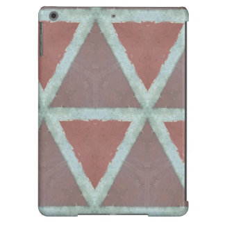 Geometric Stone Wall iPad Air Cases