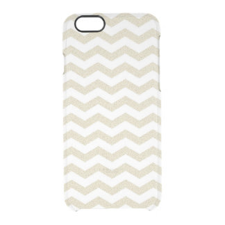 Geometric stripe chevron hipster zigzag pattern clear iPhone 6/6S case