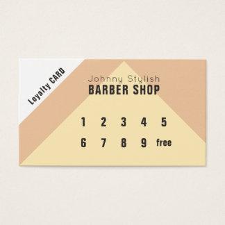 Geometric style loyalty card