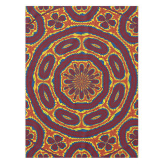 Geometric tapestry tablecloth