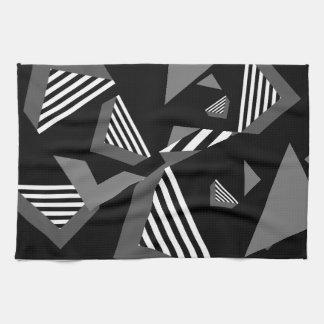 geometric tea towle tea towel