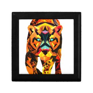 Geometric Tiger Prowl Gift Box