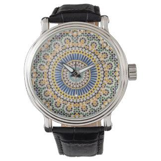 Geometric tile pattern, Morocco Watch