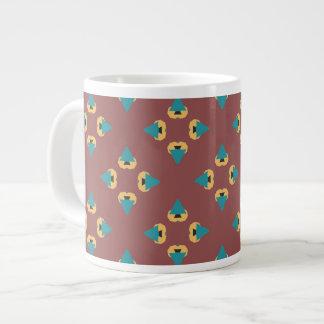 Geometric tree design coffee mug