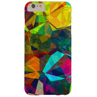 Geometric, trendy, cool, multi colours. barely there iPhone 6 plus case