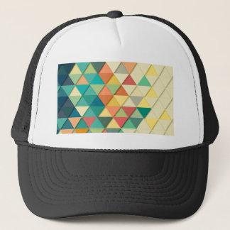 Geometric Triangle Trucker Hat