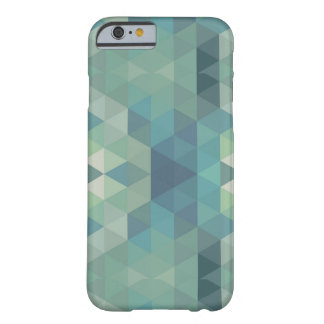 Geometric Triangles - Fresh Water Barely There iPhone 6 Case