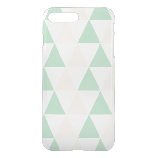 Geometric triangles hipster pastel triangle iPhone 7 plus case