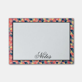Geometric Triangles Post-it Notes