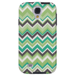 Geometric tribal aztec andes chevron zig zag print galaxy s4 case