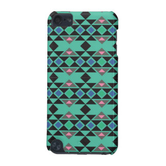 Geometric tribal aztec andes hipster teal pattern iPod touch 5G cover