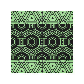 Geometric Tribal Flair Abstract Wall Art