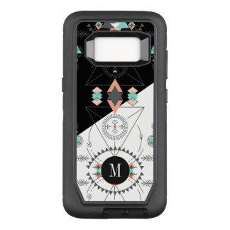 Geometric Tribal Pattern Modern Design OtterBox Defender Samsung Galaxy S8 Case