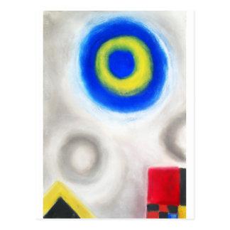 Geometric Trinity (Geometric expressionism) Postcard
