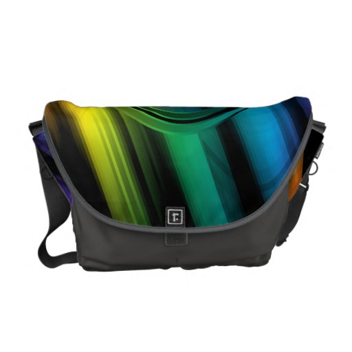 Geometric Vector Abstract Art Commuter Bags
