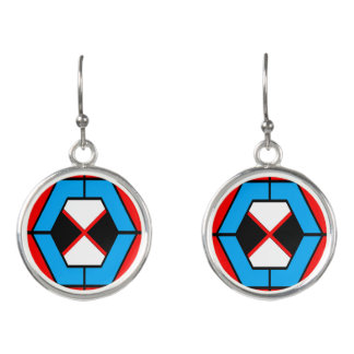 Geometric Vibrant Earrings