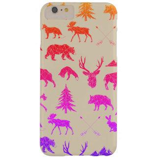 Geometric Woodland Animals | iPhone 6/6s Plus Case