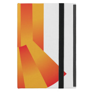 Geometric Yellow and Red Gradient Ipad Case