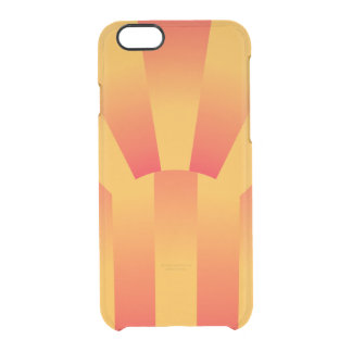 Geometric Yellow and Red  iPhone Clearly™ Case