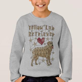 Geometric Yellow Lab Retriever Sweatshirt