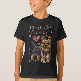 Geometric Yorkshire terrier T-Shirt