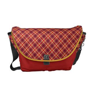 Geometrical elegance commuter bag