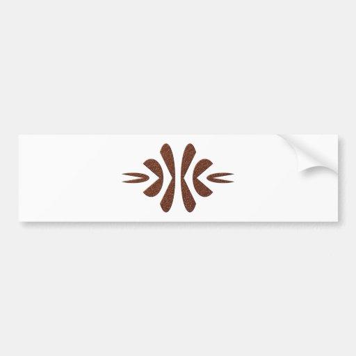 geometrical figure geometric shape bumper stickers