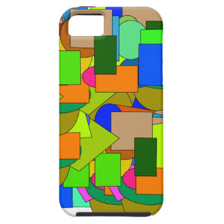 geometrical figures case for the iPhone 5
