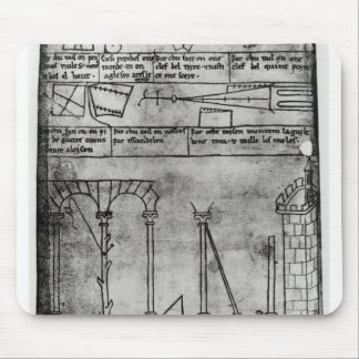 Geometrical figures for construction mouse pad