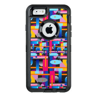 Geometrical Jig on Otterbox for the iPhone 6s Case