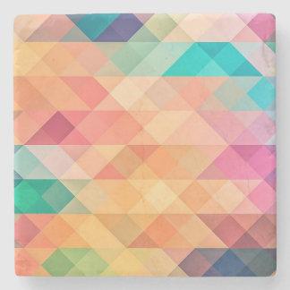 Geometries Stone Coaster