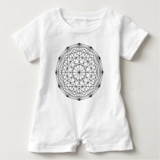 Geometry Baby Bodysuit