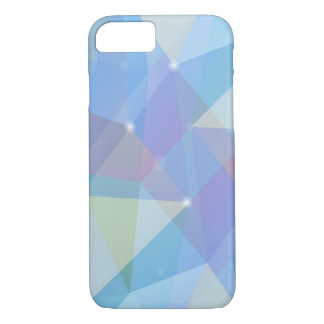 Geometry Blue, iPhone 7 Case