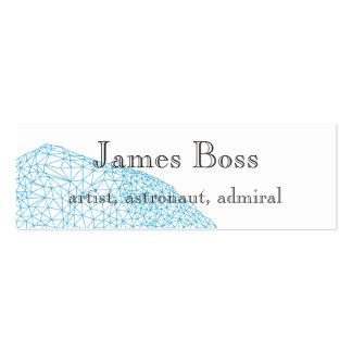 Geometry design business card