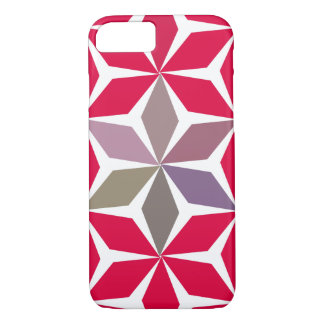 Geometry & flowers iPhone 7 case
