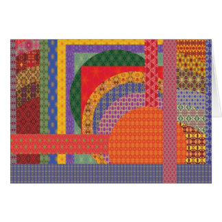 Geometry in motion II Greeting Cards