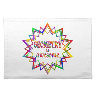 Geometry is Awesome Placemat