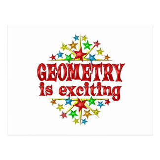 Geometry is Exciting Postcard
