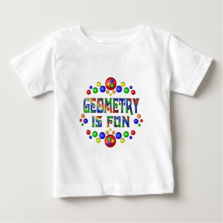Geometry is Fun Baby T-Shirt