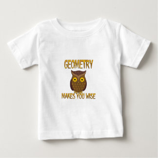 Geometry Makes You Wise Baby T-Shirt