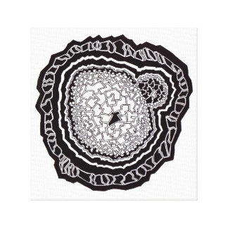 Geometry Mandala sample core Canvas Print