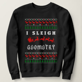Geometry Math Teacher Christmas Sweater