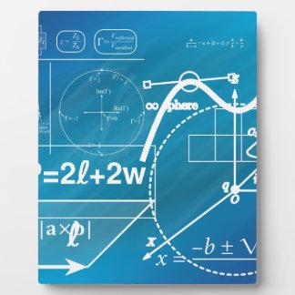 Geometry Plaque
