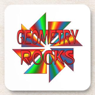 Geometry Rocks Coaster